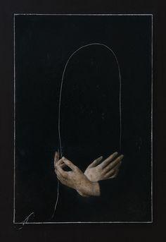 Nicola Samorì - In principio era la fine, 2016 Olio su tavola Arte Obscura, Arte Horror, Oeuvre D'art, Dark Art, Art Inspo, Art Reference, Contemporary Art, Art Photography, Illustration Art