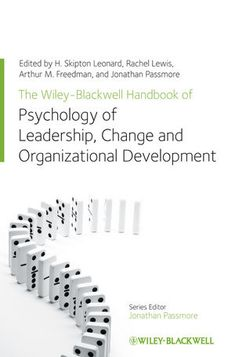 The Wiley-Blackwell Handbook of the Psychology of Leadership, Change and Organizational Development co-edited by Dr Rachel Lewis.