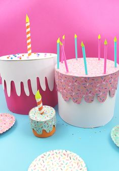 Jul 29 How to make birthday cake boxes
