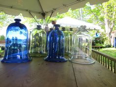 Cloches ( make from home interior candle sconces)