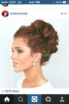 If I ever try an up-do... This might be the one.