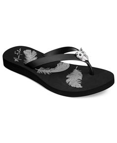 Marc Fisher Shoes, Owl Flip Flops - 3-Day Specials - Shoes - Macy's