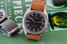 HANDS ON: The Hamilton Pilot Pioneer Mechanical - HODINKEE Cool Watches, Rolex Watches, Hamilton Khaki Field, Iwc Pilot, Field Watches, Mechanical Hand, Hands, British, News