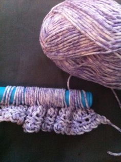 5 Crochet Stitches That Hold Multiple Loops on Hook: Broomstick Lace Crochet