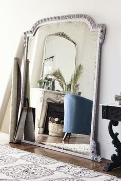 #anthrofave Draped Garland Mirror - anthropologie.com