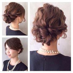 yukiさんありがとうございました♡  長さは肩つくくらいです(*^^*) ふわふわやわらかい質感に でも1日しっかりキープ♡  お次はLORENでお待ちしております(*^^*)♡ #hair#hairarrange#hairstyle#arrange#wadamiarrange#ヘアスタイル#ウェディング#ブライダル#ヘアアレンジ#ヘア#アレンジ#ファッション#ヘアメイク#メイク#愛知#名古屋#美容師#美容室#LOREN#lorensalon