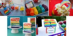 Rainbow Party Sweets