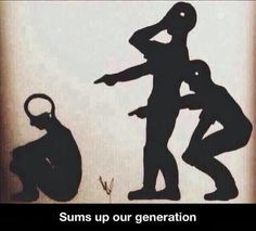 Funny pictures about Summing Up This Generation. Oh, and cool pics about Summing Up This Generation. Also, Summing Up This Generation photos. Anti Intellectualism, Humor Grafico, Thought Provoking, Street Art, Funny Pictures, School Pictures, Funny Memes, Funny Quotes, Life Quotes