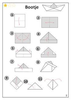 Bootje | Origami-vouwen.jouwweb.be
