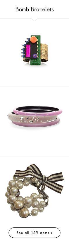 """Bomb Bracelets"" by jennross76 ❤ liked on Polyvore featuring jewelry, bracelets, green, cuff jewelry, aztec jewelry, beaded jewelry, cuff bangle, beading jewelry, rose opalescent and bracelet bangle"