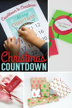 Countdown to Christmas with these easy and fun DIY holiday crafts! Whether it's a gift or a unique wrapping idea, the person who receives your gift is sure to love it!
