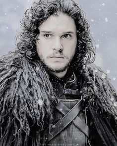 Kit Harington as Jon Snow - Game of Thrones #GoT