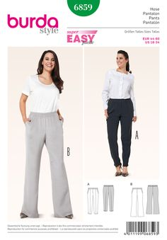 Simplicity Creative Group - Burda Style Plus to Size 60