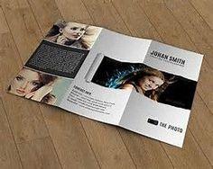 Image result for trifold photography brochures