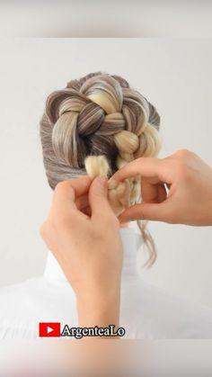 Office Hairstyles, Fancy Hairstyles, Bride Hairstyles, Mens Haircuts Thin Hair, Easy Wedding Hairstyles, Bun Hairstyle, Braided Hairstyles Tutorials, Medium Hair Styles, Short Hair Styles