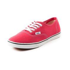 vans authentic lo pro red rouge