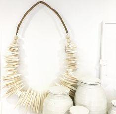 Decorative Cuttlefish Necklace | LuMu Interiors