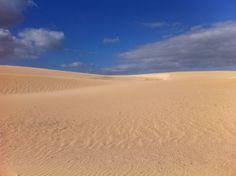 Parque natural Dunas de Corralejo.