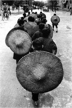 HATS!    Marc Riboud