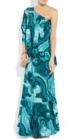 One Shoulder Floral Dress Love.  dressologyhq.blogspot.com
