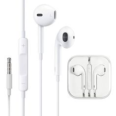 Pack] Headphones/Earphones/Earbuds, ebasy Wired Headphones Noise Isolating Earphones Built-in Microphone & Volume Control Compatible iPhone iPod iPad Samsung/Android / - Technology Ipod, Sport Earbuds, Samsung, Stereo Headphones, Windows Phone, Electronic Devices, Iphone Models