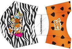 Caixa de Fritas Flintstones: