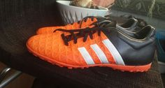 Men's adidas ace 15.4 X tf astro turf trainers Size 9, In excellent condition apart from a bit of mud on the sole. Have only been worn several times.   eBay!