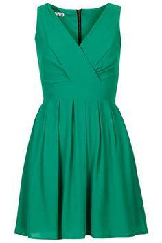 **V Neck Chiffon Dress by Wal G