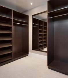 Deck out our walk-in closet!  This is the Ashton model home in Findlay Creek.