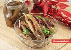 Marinated Oyster Mushrooms Recipe | Salads & Snacks | Genius cook - Healthy Nutrition, Tasty Food, Simple Recipes