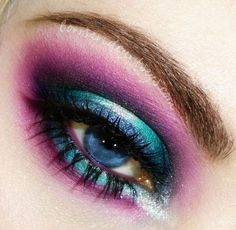Awesome! Halloween frozen eye makeup you should have a look in 2015 - Fashion Blog
