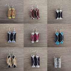 Recycled Jewelry, Recycled Crafts, Cafe Nespresso, Coffee Pods, Coffee Beans, Jewelry Making Tutorials, Beads And Wire, Diy Earrings, Yarn Crafts