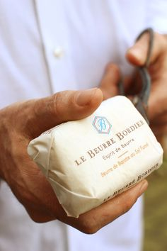 Beurre de baratte Bordier au sel fumé