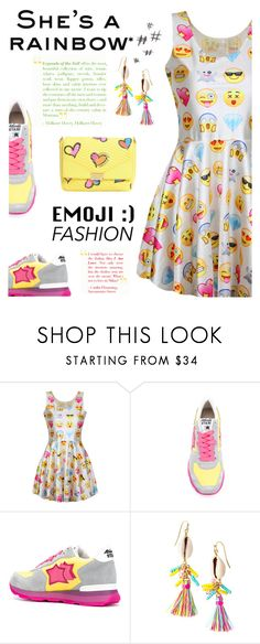 """Emoji Style"" by dixiebelle81 ❤ liked on Polyvore featuring Lilly Pulitzer and Boutique Moschino"