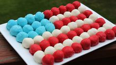 Have a ball with this festive dessert idea for the 4th of July!