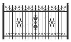 Home Fencing, Fences, Two Car Garage, Entourage, Banquet, Wrought Iron, Gate, House Design, Arabesque