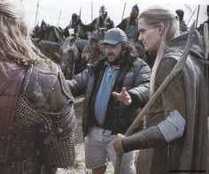 """""""At this point we were all such loyal Jackson followers that he could have said 'At this point, Aragorn grabs Legolas and tongues him;' and we would have just been like 'Yeah, alright, that makes sense.'""""    -Orlando Bloom in the Return of the King commentary."""