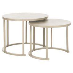 2 Piece Heidi Nesting Table Set