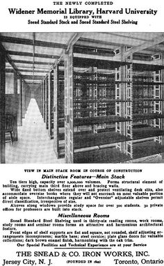 """The """"labyrinth"""" of stacks. Each of the ten levels has some 187 rows of Harvard Library, Harvard College, College Library, Harvard University, Lynnwood Hall, Gw Bush, Steel Shelving, Hero Movie, Space Telescope"""