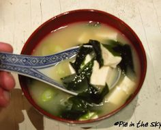 pie in the sky: How to Make Authentic Miso Soup