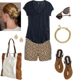 """""""Waiting on Summer"""" by bluehydrangea ❤ liked on Polyvore"""