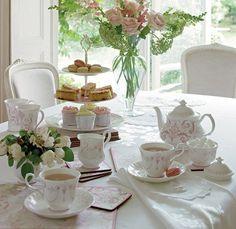 Tomar chá com quem eu gosto!!