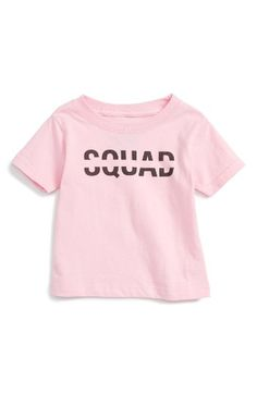 Free shipping and returns on Kid Dangerous Squad Graphic Tee (Baby Girls) at Nordstrom.com. A shoutout to all her favorite people is stamped on this pure cotton tee that's totally on point.