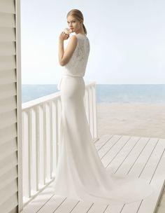 Robes de mariée : la collection Beach by Aire Barcelona