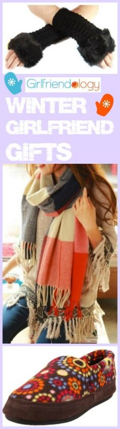 Winter girlfriend gift ideas - Brr! Stay warm! Shop at home for these birthday gifts, just because presents for women :) http://girlfriendology.com/winter-gifts-for-women-great-girlfriend-gifts-for-birthdays-and-more/