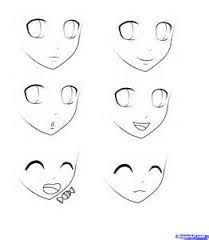 Anime Female Face 3 4 View Line Drawing Anime Face Drawing Girl Face Drawing Face Drawing