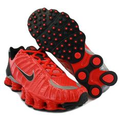 Nike Shox TLX Action Red/Black/Metallic Silver