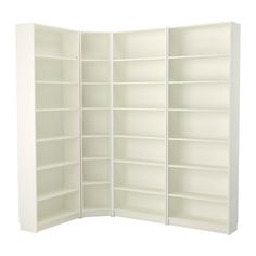BILLY Bookcase - white - IKEA, for gaming corner