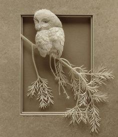 Paper Zoo: Amazing Animal Paper Sculpture from Calvin Nicholls