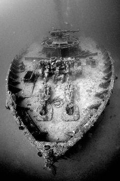 World War II Wreck, Micronesia